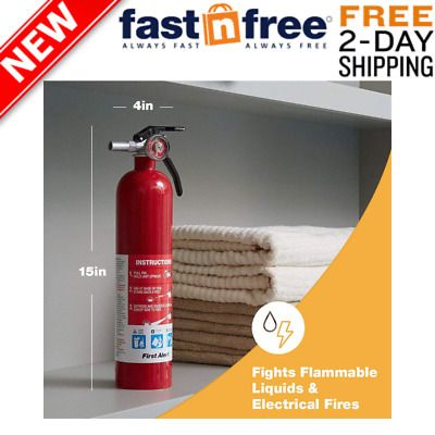 Sponsored Ebay Standard Home Fire Extinguisher Multipurpose Fire Extinguisher Fights Por In 2020 Fire Extinguisher Fire Ebay
