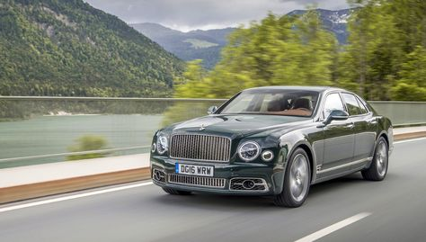 2017 Bentley Mulsanne Speed - The new sedan piles on the power while preserving passenger tranquility…