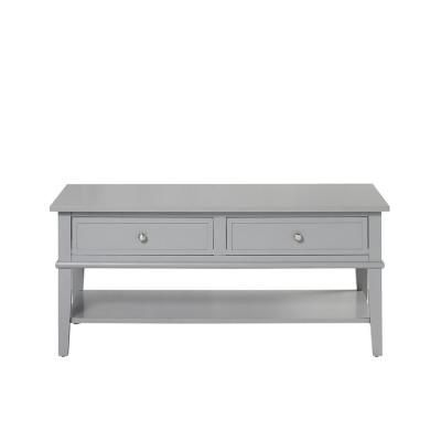 Ameriwood Queensbury Gray Coffee Table Ameriwood Coffee Gray