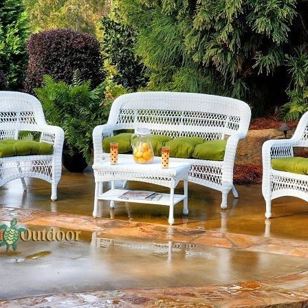50 White Wicker Furniture Sets And Pieces White Wicker Furniture