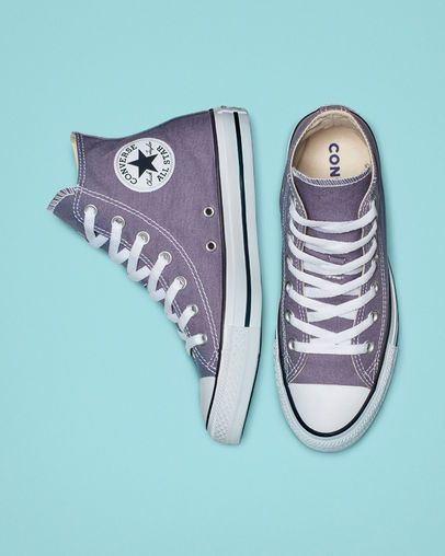 Chuck Taylor All Star Seasonal Colors High Top Moody Purple