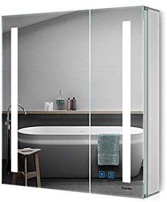 Amazon De Quavikey Led Spiegelschrank 63x65cm B H Badezimmer Spiegelschrank Mit Beleuchtung In 2020 Badezimmer Spiegelschrank Mit Beleuchtung Badezimmer Spiegelschrank Und Spiegelschrank Beleuchtung