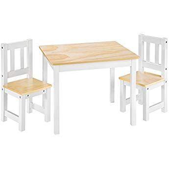 Tectake Kindersitzgruppe Mit Kindertisch Und 2 Stühlen Aus