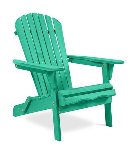 Chaise De Jardin De Style Adirondack Bois Vert A85024894 Fauteuil Jardin Chaises De Camping Et Fauteuil Marron