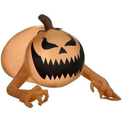 Halloween Airblown Inflatable Pumpkin Scrooge 12FT Tall Yard Decor