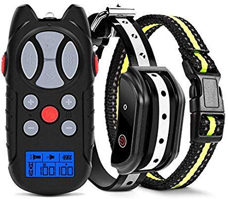 Amazon Com Flittor Shock Collar For Dogs Dog Training Collar
