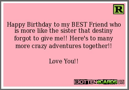 Pin By Angela Bryce On Memes Birthday Quotes For Best Friend