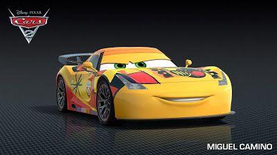 Cars 2 Miguel Camino Disney Pixar Cars Disney Cars Party Pixar Cars