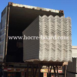2500mm Length Fiber Cement Roof Tile Big Wave
