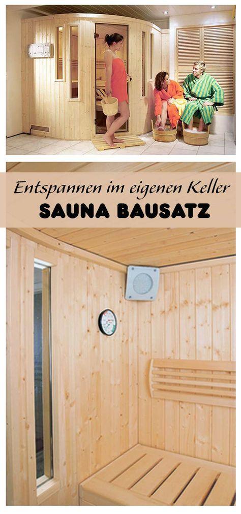 bausatz sauna