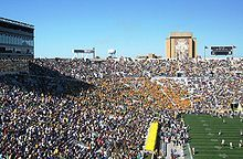 See Notre Dame Football - Touchdown Jesus