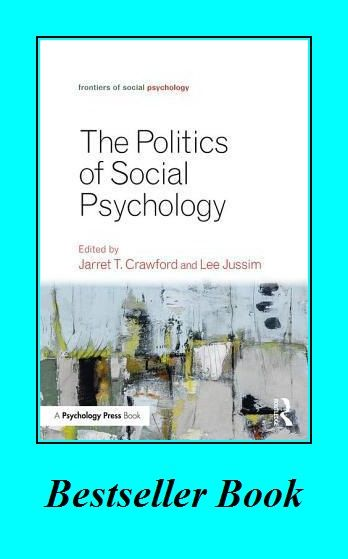 Politics Of Social Psychology In 2020 Abnormal Psychology Book Psychology Books Psychology