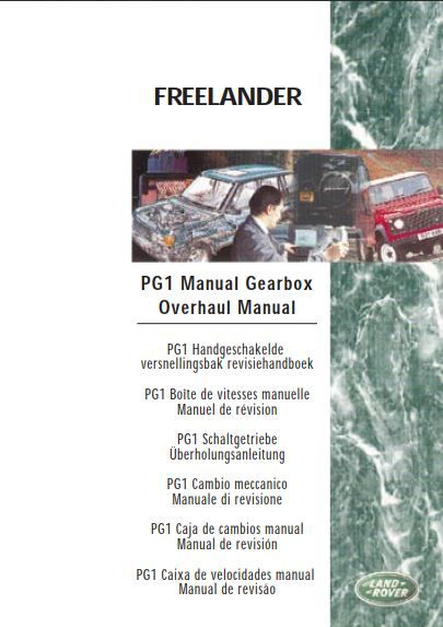New Post Land Rover Pg1 Manual Gearbox Overhaul Manual 2nd Edition Lrl 0159 Eng Has Been Published Range Rover Repair Manuals Electrical Circuit Diagram