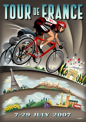 Tour de france bicycling poster cycling art pinterest tour cycling art pinterest tour de france frances oconnor and posters fandeluxe Ebook collections