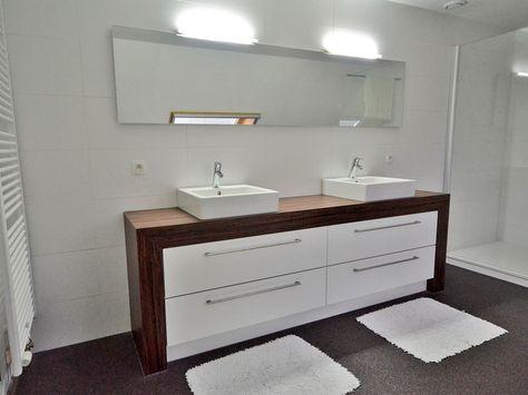 Badkamer: meubel op maat op maat - Ontwerp badkamermeubels ...