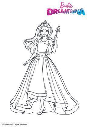 Barbie Princesse Arc En Ciel En 2020 Coloriage Barbie Coloriage Coloriage Gratuit