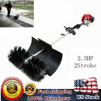 Sponsored Ebay Gas Power Hand Held Cleaning Sweeper Broom Driveway Turf Artificial Grass New In 2020 Sweeper Broom Artificial Grass Power Broom