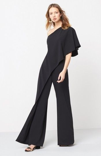 1f0a09509078 Women's Adrianna Papell One-Shoulder Jumpsuit | *** Outfit Ideas ...