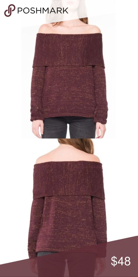 898a8efc8 Willow   Clay Off the Shoulder Sweater Willow   Clay Off the ...