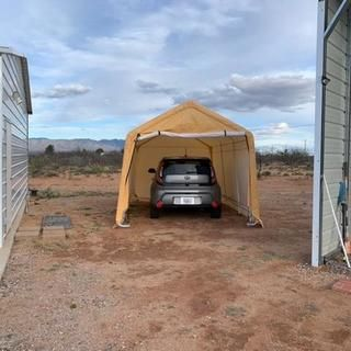 10 Ft X 17 Ft Portable Garage Portable Garage Outdoor Gear Garage