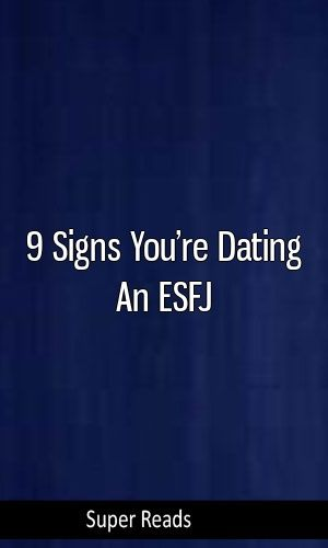 Esfj dating INFP
