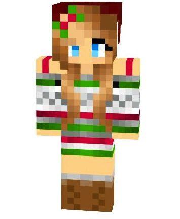 Cute girl ^.^ | Minecraft cool crafty girl skins | Pinterest