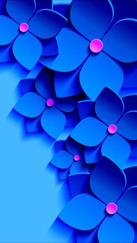 +de 37 Modelos lindíssimos de Papel de Parede para Celular Azul > Vem ver!