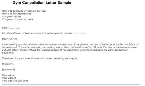 Representative Letter - A representative letter is written by an - gym contract template