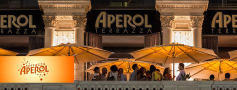 Terrazza Aperol | Put your nose outside // Places to go, Things to ...