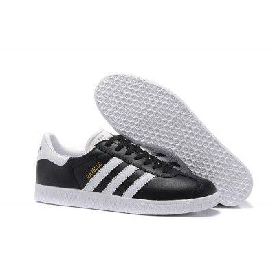 Adidas Gazelle Leather Shoes Black