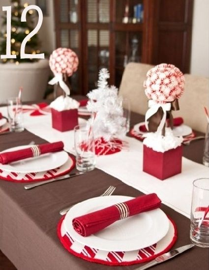 Dinner table Christmas decor | Shabby-N-Chic | Pinterest | Christmas centrepieces Centerpieces and Christmas decor & Dinner table Christmas decor | Shabby-N-Chic | Pinterest | Christmas ...