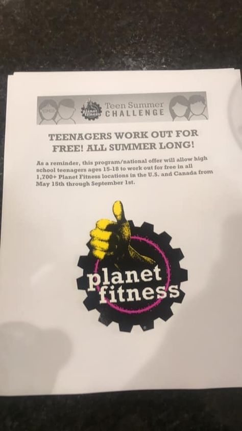 Free Summer Gym Membership For Teens Planet Fitness Workout Planet Fitness Locations Free