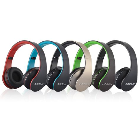 bec99995bf4 Andoer LH-811 4 in 1 Wireless BT EDR Headset with Mic #Andoer