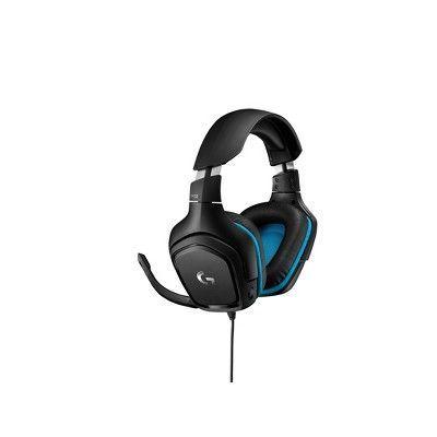 Logitech 7 1 Surround Sound Wired Headset G432 Black Disney Phone Accessories In 2020 Surround Sound Phone Phone Accessories
