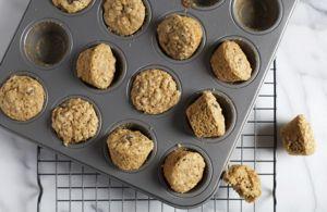 Mini-muffins saludables para niños @enmicocinahoy