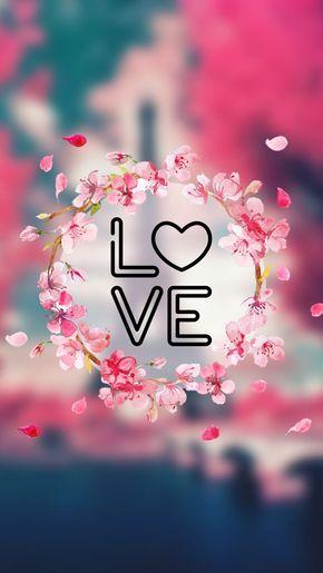 Loja Estilo Joven Love Wallpaper Cellphone Wallpaper Pink Wallpaper