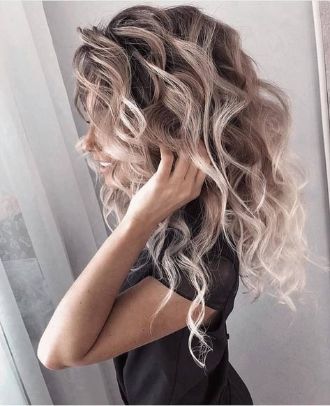 "Fashion mood ❣️ on Instagram: ""Beautiful #hairstyle ❤️ . Follow @fashionmoodd_ ______________________________ #follow #followme #like #likeforfollow #tagsforlikes #TFLers…"""