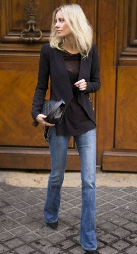 30+ Lovely Winter Office Outfits With Jeans