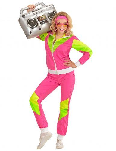 80er Jahre Sportlerin Kostum Fur Damen Kostume Damen 80er Jahre Kostum Karneval Kostum Damen