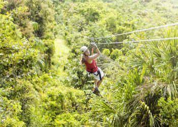 Costa Rica Trips Zip Lining White Water Rafting