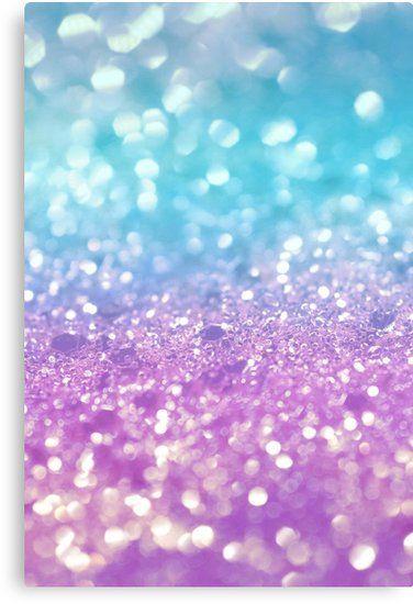 Summer Mermaid Girls Glitter 2 Shiny Decor Art Canvas Print By Anitabellajantz In 2021 Work Pictures Glitter Wallpaper Framed Art Prints