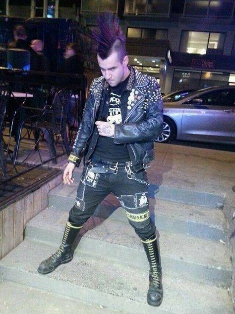 mean looking punk