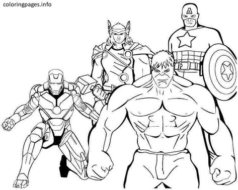 superhero 08 superhero coloring pages free printable superhero 08  superhero coloring pages