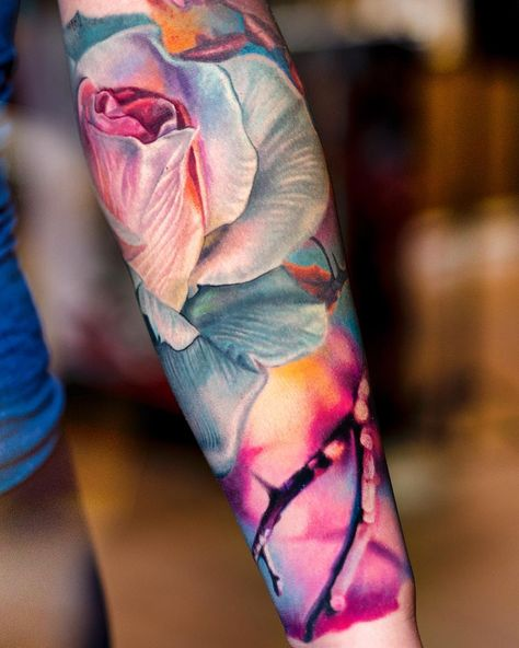 So beautiful.  I would love this art on my arm