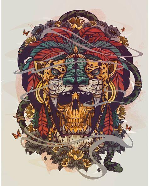 20 Skull Artwork Collection - Artmene