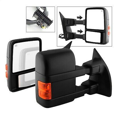 NEW PAIR DOOR MIRRORS FITS TOYOTA TACOMA 2001-2004 POWER NON-HEAT 3 HEADS 3 PINS