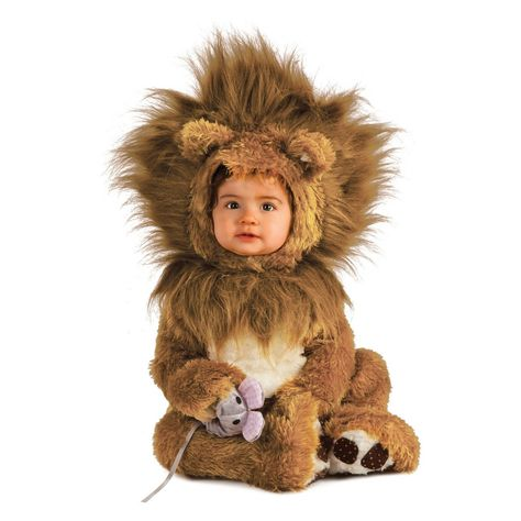 Baby Lion Cub Halloween Costume 12-18M, Multicolored