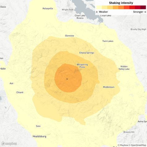 Third Quake In A Week Hits Kincade Fire Region In Sonoma County Los Angeles Times Sonoma County Sonoma Amazing Nature