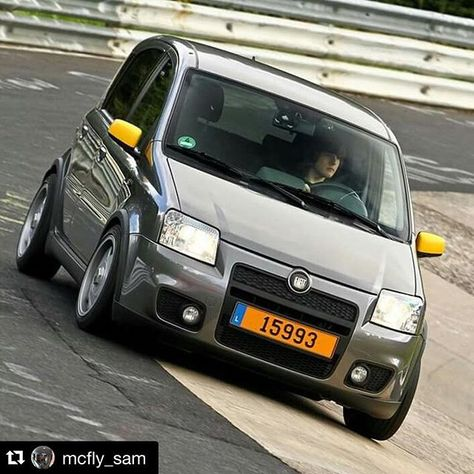 @mcfly_sam #fp100hp #fiat #panda #fiatpanda #panda100hp #fiatpanda100hp #100hp #fiatforum #nurburgring