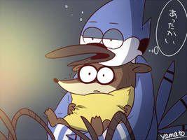 Morby By Akamahura Yamato Regular Show Rigby Regular Show Cartoon Fan
